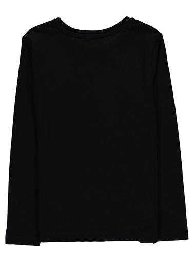Morhipo Kids Uzun Kol  Baskılı T-shirt Lacivert